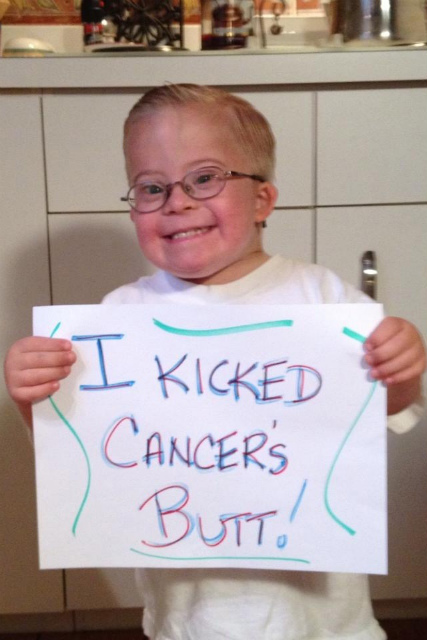 Boy With Down Syndrome Beats Cancer