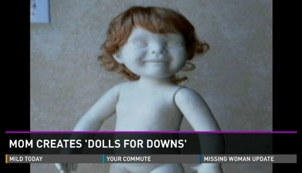 Dolls designed for children with Down Syndrome