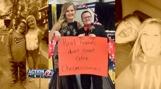 Down Syndrome In Inspiring Prom Message1