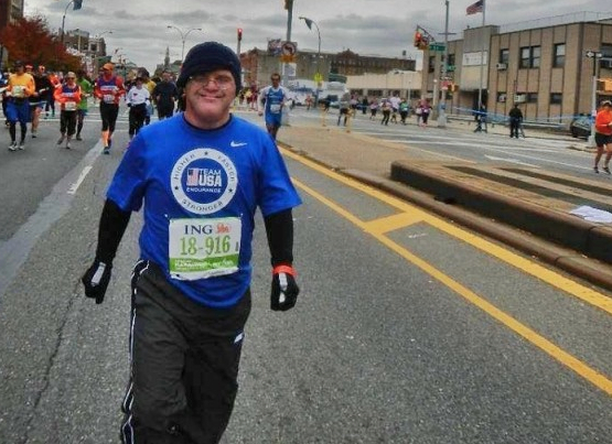 First Runner With Down Syndrome Completes NY Marathon