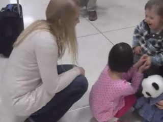 GIRL WITH DOWN SYNDROME ADOPTED FROM CHINA