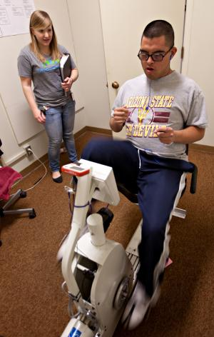 Researcher finds exercise may be intervention