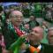アイルランドの熱心なサッカーファン