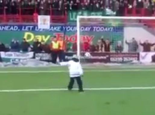 Young Celtic fan