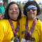 フルマラソンに参加するダウン症女性
