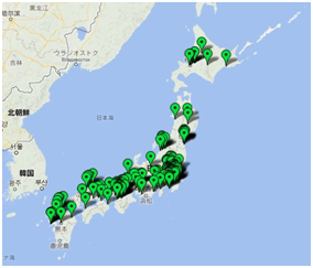 oralpeace_japan_map