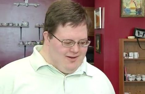 s_Man with Down syndrome opening coffee shop