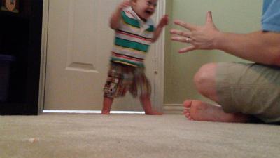 Noahs first steps