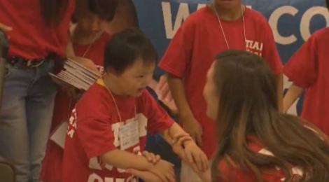 s_Texas Family Welcomes Chinese Orphan2