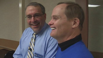 small_Man With Down Syndrome Celebrates 25 Years On Job